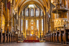Matthias church in Budapest the capital city of Stock Image