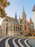 Matthias Church in Budapest during the Day Stock Photo