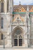 Matthias church in Budapest Stock Photos