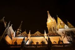 Matthias church in Budapest, Hungary Royalty Free Stock Photos