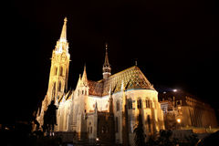 Matthias church in Budapest, Hungary Stock Images