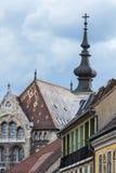 Matthias Church in Budapest, Hungary in the center of Buda Castl Stock Photo