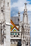 Matthias Church in Budapest, Hungary in the center of Buda Castl Stock Photography
