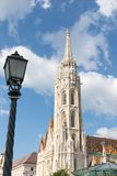 Budapest/Hungary-09.09.18 : Matthias Church cathedral Fisherman Bastion Buda stock image