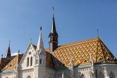 Matthias church, Budapest, Hungary Royalty Free Stock Photo