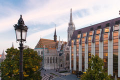 Matthias Church in Budapest Hungary Stock Images