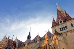 Matthias Church in Budapest Hungary Stock Image