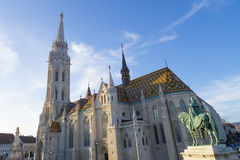 Matthias church in Budapest, Hungary Stock Photography