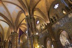 Matthias Church - Budapest - l'Ungheria Fotografie Stock