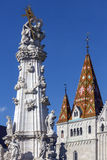 Matthias Church - Budapest - l'Ungheria Immagini Stock Libere da Diritti