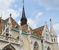 Matthias church, Budapest. Hungary in summer Royalty Free Stock Photo