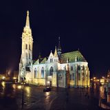 Matthias Church in Budapest Royalty Free Stock Image