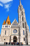 Matthias Church in Budapest. One of the main temple in Hungary Royalty Free Stock Photography