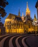 Matthias Church in Budapest tagsüber Lizenzfreie Stockbilder