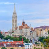 Matthias Church in Budapest Stock Photos
