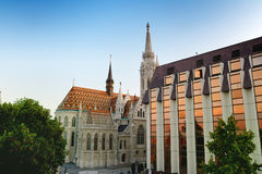 Matthias Church, Castle Hill district - Budapest, Hungary Royalty Free Stock Photography