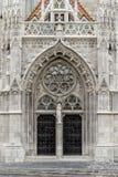 Matthias Church dans la place de trinité de Budapest images libres de droits