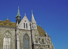 Matthias Church in Eastern Europe Stock Photo