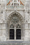 Matthias Church en cuadrado de la trinidad de Budapest Imágenes de archivo libres de regalías