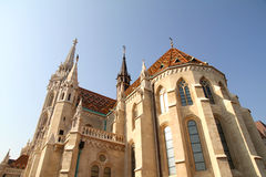 The Matthias Church in the Fisher Bastion Stock Images