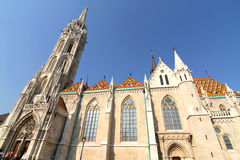 The Matthias Church in the Fisher Bastion Stock Photo