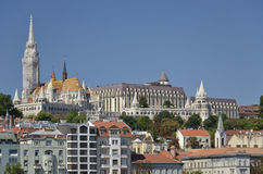 Matthias Church and the Fisherman's Bastion, Budapest. 2 Stock Images