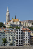 Matthias Church and the Fisherman's Bastion, Budapest. 3 Royalty Free Stock Photography