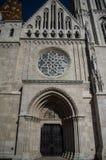 Matthias Church in Budapest city stock photos