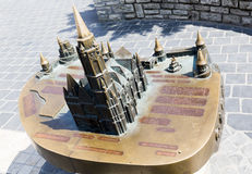 Matthias Church model for blind people Stock Photography