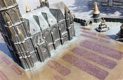 Matthias Church model for blind people Royalty Free Stock Photo