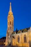 Matthias Church - punto di riferimento famoso di Budapest, Ungheria Immagini Stock