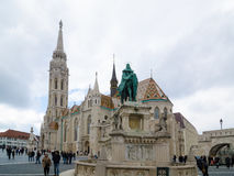 Matthias Church is a Roman Catholic church located in Budapest, Hungary Stock Photo