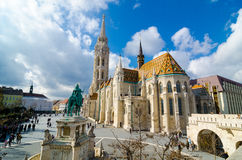 Matthias Church is a Roman Catholic church located in Budapest, Hungary Stock Images