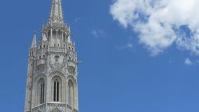 Matthias Church Spire στη Βουδαπέστη φιλμ μικρού μήκους