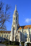 Matthias Church square Budapest Stock Image