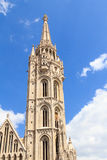 Matthias church tower in Budapest Royalty Free Stock Photography