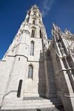 Matthias Church tower Budapest Royalty Free Stock Photo