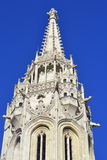 Matthias Church tower Budapest Stock Image