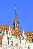 Matthias Church turrets Budapest Royalty Free Stock Photos