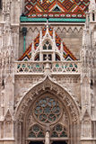Matthias church wall Budapest Royalty Free Stock Images