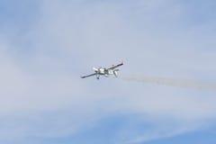 Matthias Dolderer des Deutschen führt während Red Bull-Wettfliegen durch Lizenzfreie Stockbilder