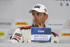 Matthias Dolderer during press conference Stock Image