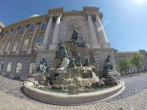 Matthias Fountain Royalty Free Stock Photos