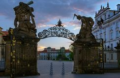 Matthias gate Stock Photography