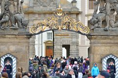 The Matthias gate from the Prague castle Royalty Free Stock Photography