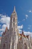 Matthias-Kirche Lizenzfreie Stockfotos