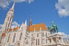 Matthias-Kirche Lizenzfreies Stockfoto