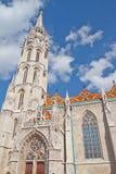 Matthias-Kirche Lizenzfreies Stockbild
