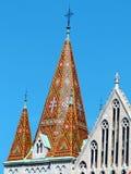 Matthias-Kirche stockbilder