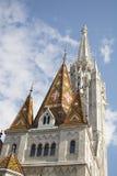 Matthias-Kirche bei Buda, Budapest Stockfotos